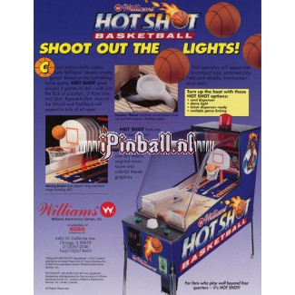 NBA Hotshots basketbal game