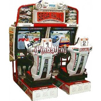 Race game Brons Sega Rally 2 Twin