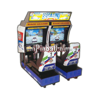 Race game Brons Sega Rally 1 Twin