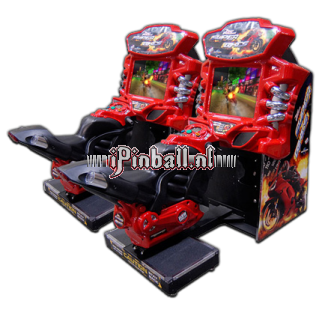 "Race game Zilver Fast & Furious ""Superbikes"" Twin"