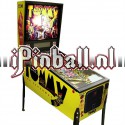 Flipperkast The who's Tommy pinball wizard (zilver)