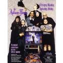 Flipperkast The Addams family (goud)