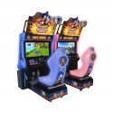 Race game Zilver Sonic & Sega allstars racing Twin