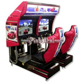 Race game Zilver plus Sega Outrun 2SP