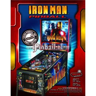 Flipperkast Iron Man Vault (zilver)