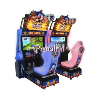 Race game Zilver Sonic & Sega allstars racing Twin
